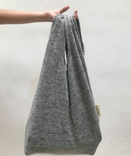 upcycle - fabric bag misty 2
